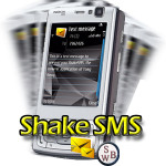 ShakeSMS, applicazione accelerometro SymbianOS S60 3rd Edition (n95-n96)