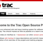 Trac Open Source Project