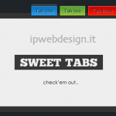 Contenuti in Tabs, Schede con jQuery & CSS3: Sweet AJAX Tabs 1.4