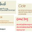 4 Fonts Gratis, Lavori Tipografici, Fonts Inspirations