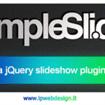 simpleSli.de: jQuery Slideshow Plugin in HTML5