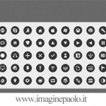 Discons: Bellissime icone monocromatiche – Icon Inspirations
