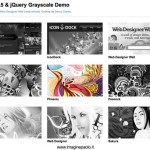 HTML5 & jQuery Grayscale