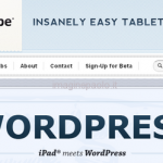Un Plugin che Trasforma il tuo WordPress in Applicatione per iPad