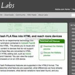 Wallaby: per Convertire file Adobe Flash in HTML anche per il mobile