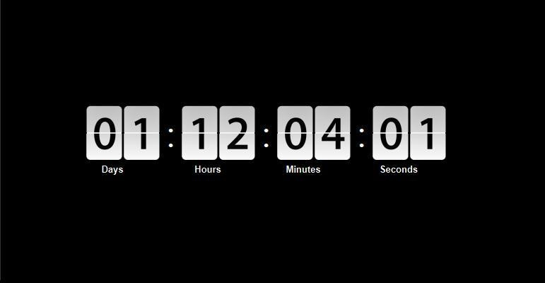 jquery_countdown_clock