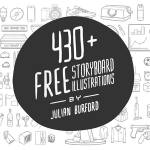 Gratis 430 illustrazioni di Julian Burford