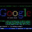 Google, la prima schermata!