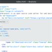 Brackets: un editor di testo open source e moderno, creato per il web.