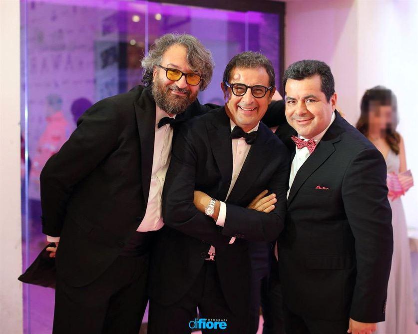 Paolo Franzese con i Di Fiore Fotografi