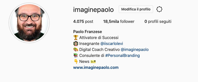 come-biografia-instagram