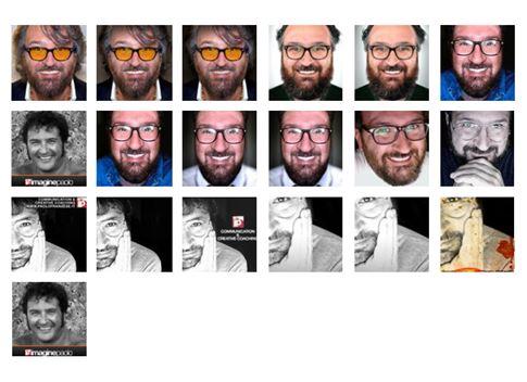 Immagini del profilo caricate negli anni.