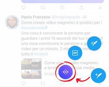 Come aprire un TwitterSpaces