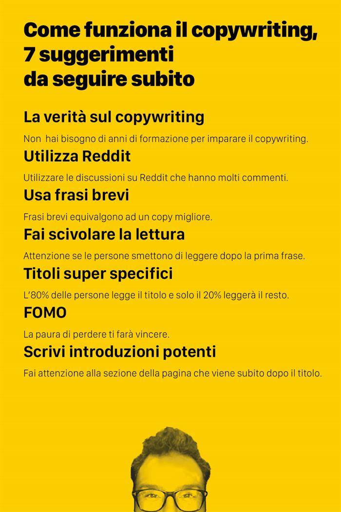 Come funziona il copywriting