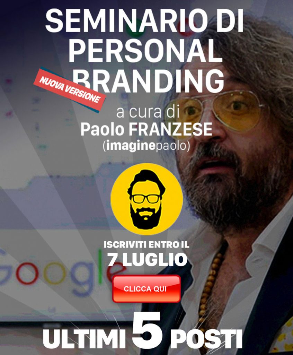 Seminario di Personal Branding